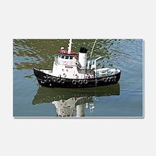 Model tugboat Car Magnet 20 x 12