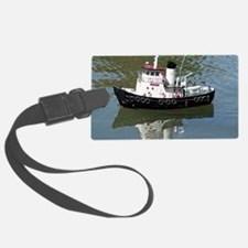 Model tugboat Luggage Tag