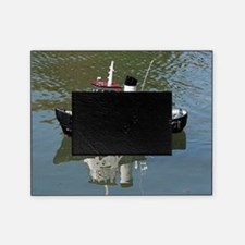 Model tugboat Picture Frame