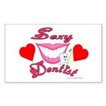 Sexy Dentist Rectangle Sticker