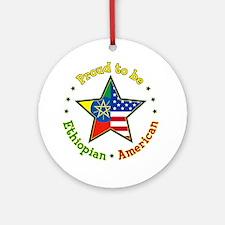 Ornament (Round)/Ethiopian American