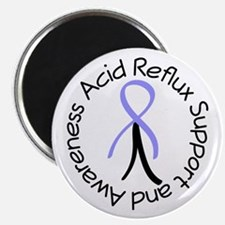 Acid Reflux Support Awareness Magnets