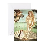 Venus & Beagle Greeting Cards (Pk of 20)