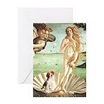 Venus & Beagle Greeting Card