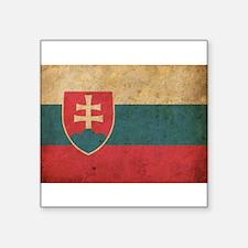 """Cute Slovakia Square Sticker 3"""" x 3"""""""