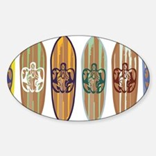 Surfing turtles Decal