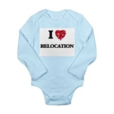 I Love Relocation Body Suit