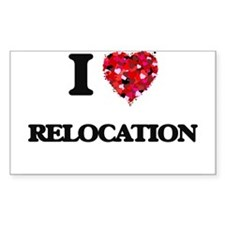 I Love Relocation Decal