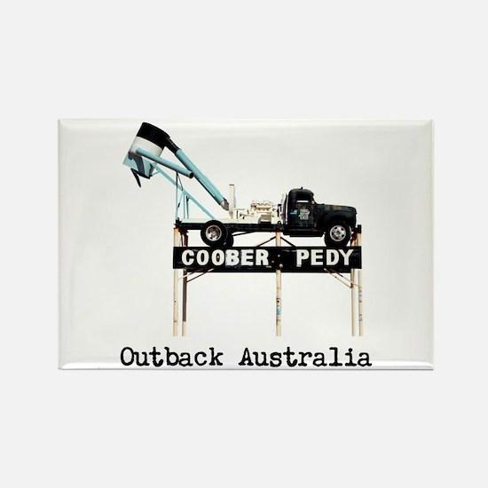 Customizable Coober Pedy Outback Australia Rectang