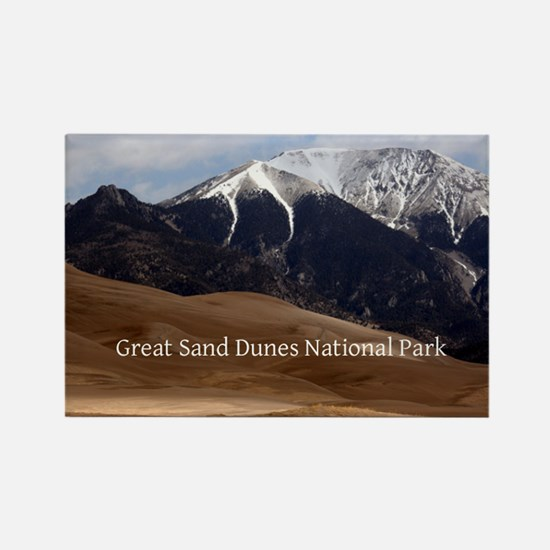 Great Sand Dunes Colorado Souveni Rectangle Magnet