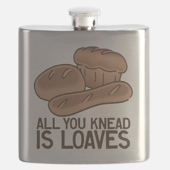 All You Knead is Loaves Flask