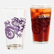 Cool Deep purple Drinking Glass