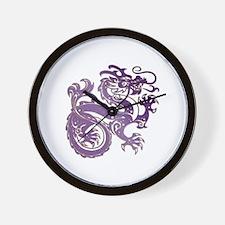 Funny Amethyst Wall Clock