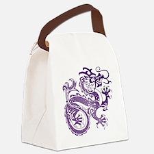 Unique Dragon Canvas Lunch Bag