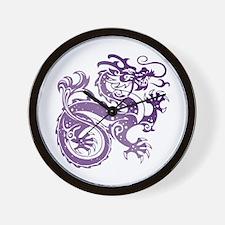 Cool Amethyst Wall Clock