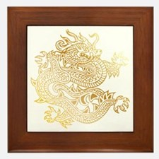 Cute Chinese dragon Framed Tile