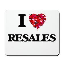 I Love Resales Mousepad