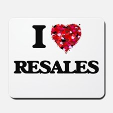 I Love Resales Mousepad