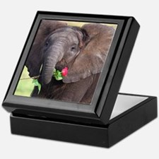 BABY ELEPHANT , LOVE Keepsake Box