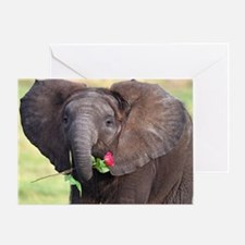BABY ELEPHANT , LOVE Greeting Card