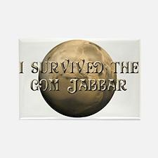 Dune - I survived the Gom Jabbar Rectangle Magnet
