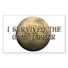 Dune - I survived the Gom Jabb Decal