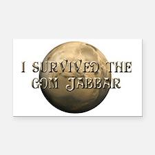 Dune - I survived the Gom Jab Rectangle Car Magnet