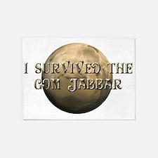Dune - I survived the Gom Jabbar 5'x7'Area Rug