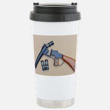 RUBBER  BULLETS Stainless Steel Travel Mug