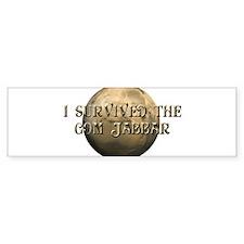 Dune - I survived the Gom Jabbar Bumper Bumper Sticker