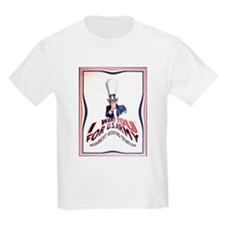 Receding Uncle Sam Poster T-Shirt