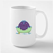 Bathing Purple Hippo Mugs