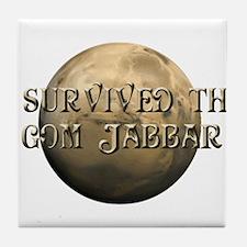Dune - I survived the Gom Jabbar Tile Coaster