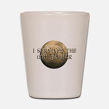 Dune - I survived the Gom Jabbar Shot Glass