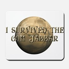 Dune - I survived the Gom Jabbar Mousepad