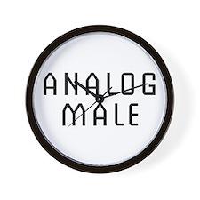 Analog Male Wall Clock