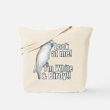 White & Birdy Tote Bag