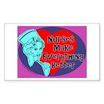 Nurses make Everything better Sticker (Rectangular