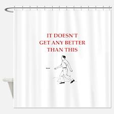 Cute Ringer Shower Curtain