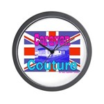 Caravan Couture Wall Clock