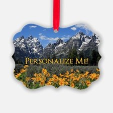 Personalizable Photo Souvenir Gra Ornament