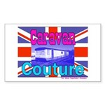 Caravan Couture Rectangle Sticker