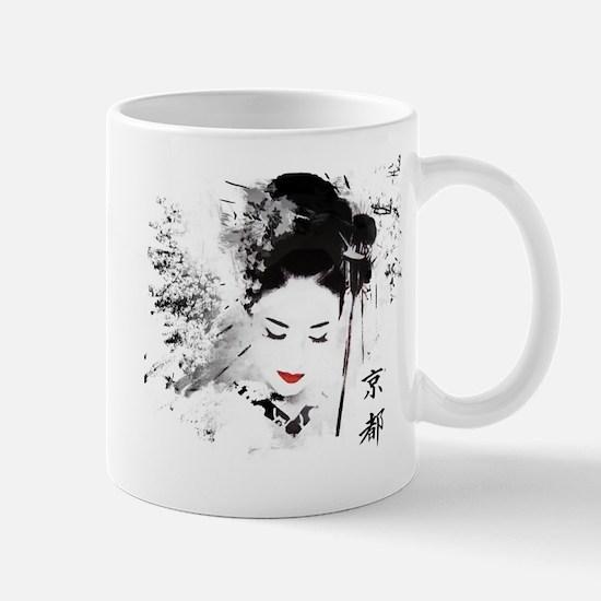 Kyoto Geisha Mug