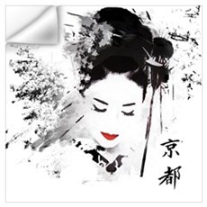 Kyoto Geisha Wall Decal