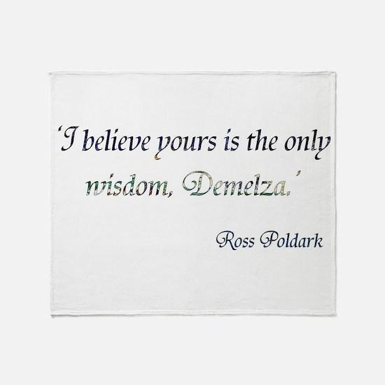 Demelza Poldark Throw Blanket