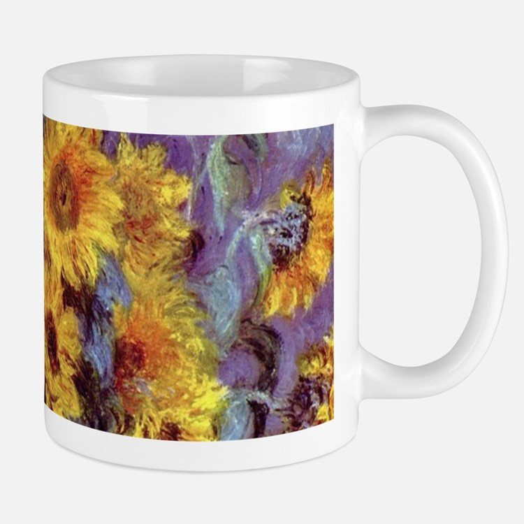 Bouquet of Sunflowers by Claude Monet Mugs