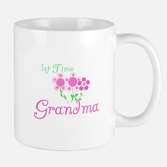1st Time Grandma Mug