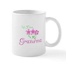 1st Time Grandma Small Mug