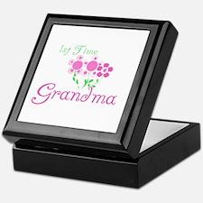 1st Time Grandma Keepsake Box