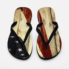 modern art Flip Flops